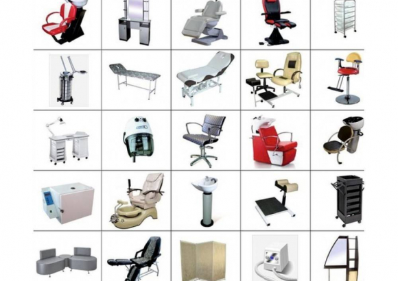 Производство мебели и оборудования для салонов красоты